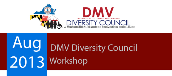 DMV Diversity Council Workshop Meeting - August 2013
